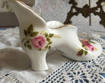 Sweet roy kirkham Staffordshire bone china lady's shoe