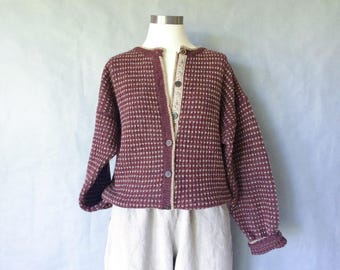 20% off using coupon! Vintage woolrich wool sweater/cardigan women's size S/M/L