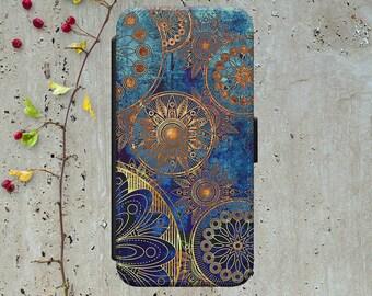 Mandala Iphone 7 Wallet Case Leather Iphone 7 Plus Case Leather Iphone 7 Flip Case Iphone 7 Leather Wallet Case Iphone 7 Leather Sleeve