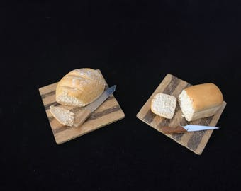 Realistic Miniature Loaf of Bread