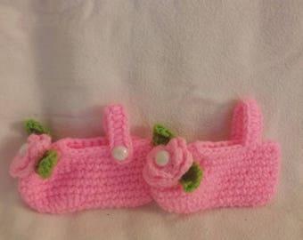 Crochet Infant slippers