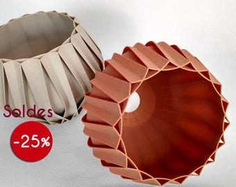 Sale! Origami Lampshade with model IKEA HEMMA wood fiber