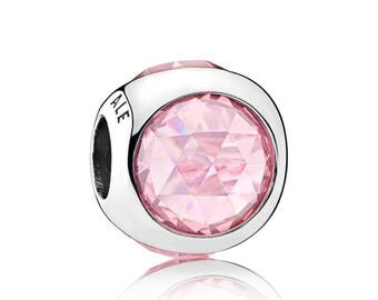 Authentic Pandora Radiant Droplet Pink Charm