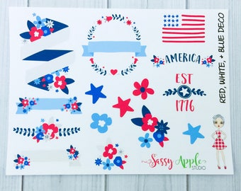 flag day crafts patriotic stickers etsy 2025