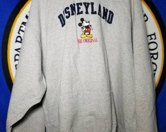 Disneyland the Original Mickey Inc. Thick Warm Soft Hoodie XXL