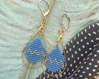 Handmade beaded earings