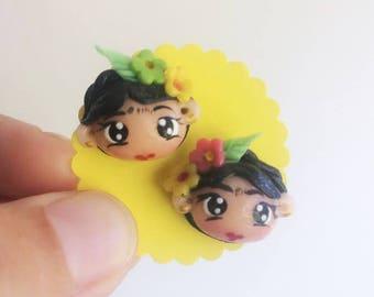 Mini Frida Earrings