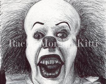 Pennywise, IT, Stephen King, Clown, Murder, They All Float, Tim Curry