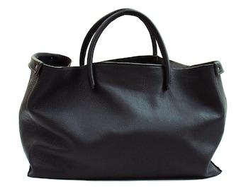 Large Leather bag handmade