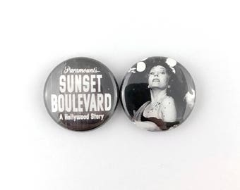 "Sunset Blvd. - 1"" Button Pin Set"