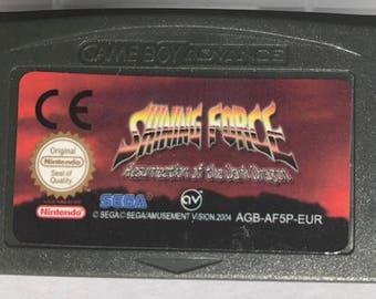 Shining Force: Resurrection of the Dark Dragon GBA fan made reproduction