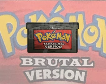 Pokemon Brutal Version fan made hack GBA