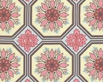 """Michael Miller Fabrics   """"Ginger Blossom"""" by Sandi Henderson  Fat Quarter"""