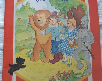 Wizard of Oz Paperdolls 1977
