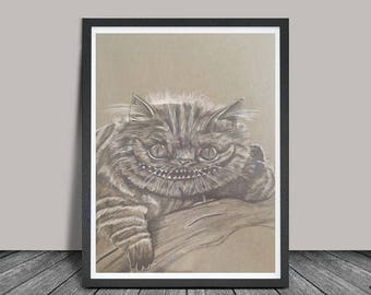 Cheshire Cat - Prints