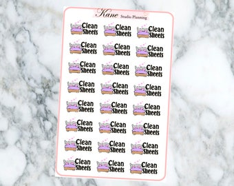 Clean Sheets Stickers