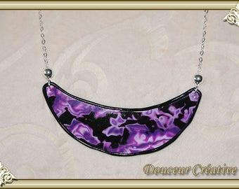 Purple necklace purple Black Moon 103041