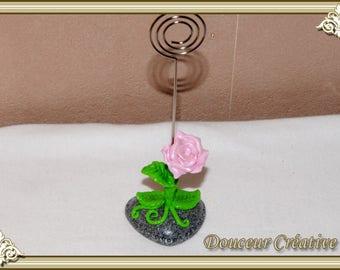 Pink flower 303002 picture holder