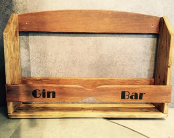 Gin Bar gin rack