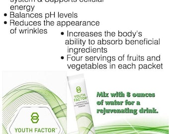 Youth Factor drink powder