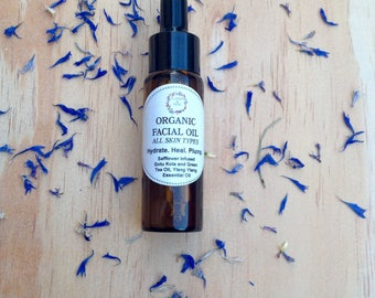 Organic Facial Oil- All Skin Types