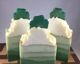 Green Clover and Aloe Soap