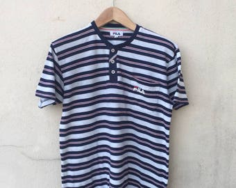 Fila Stripe Pocket Tshirt