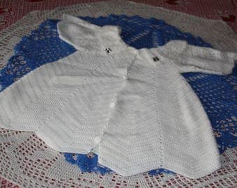 dress baby from 9 / 12 months to hand made crochet