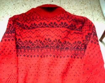 Jacket or vest wool sport jacquar shawl collar pattern