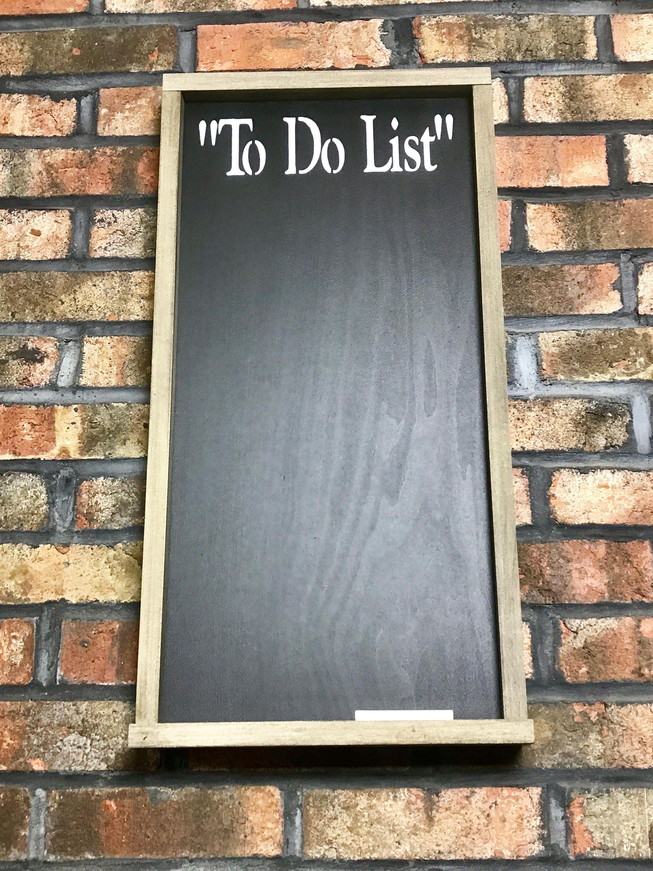 To Do List Chalkboard/Chalkboard/Framed Chalkboard/Kitchen ...
