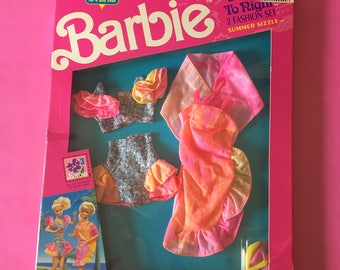 """Barbie Day To Night Fashions """"Summer Sizzle"""" - New In Box"""