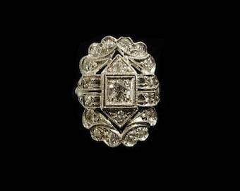 ANTIQUE DIAMOND RING - 7006B3915