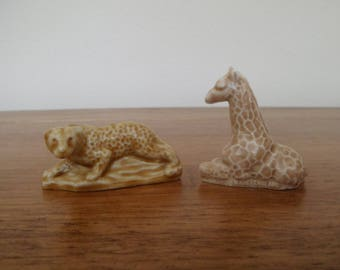 Wade Whimsies Giraffe and Leopard