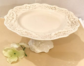 Vintage Victorian Collection Small Cake/Dessert Plate