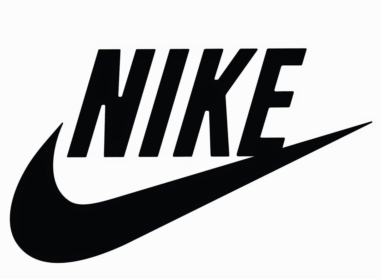 how to cut the nike logo