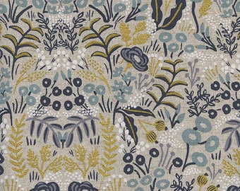 Rifle Paper Co. - Menagerie, Tapestry - Natural in Canvas (Metallic)