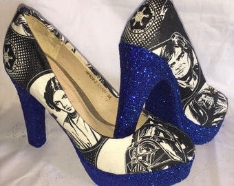 Star Wars shoes / heels * * * uk sizes 3-8 * * *