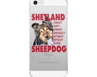iPhone Case Shetland Sheepdog, Sheltie, Sable and White