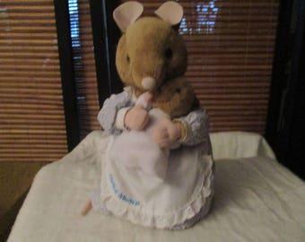 Beatrix Potter Hunca Munca Soft Toy With Baby