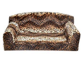 Animal Predatory - Pet Sofa. Settee Sizes: Small, Medium, Large Small Large Dogs