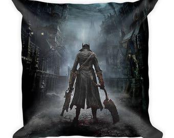 Bloodborne Hunter Pillow