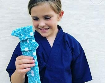 Mini Shinai Bag / Pencil Case / Travel Accessory Case / Pen Case / Back to School / School Supplies / Accessories Pouch / Martial Art Gift