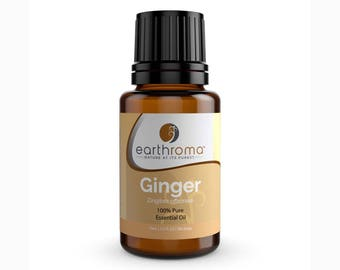 Ginger Essential Oil | 5 mL | 15 mL | 30 mL | 100% Pure Therapeutic Grade