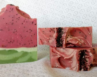 Juicy Summer Melon - Coconut Cream Soap