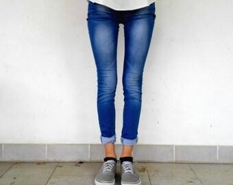 Vintage Jeans Woman ONE SIZE XS/S
