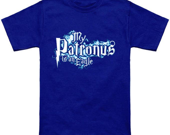 My PATRONUS Is A EAGLE Custom T-Shirt Magic Animal Charm Fantastic Beasts Wizard Spell Fantasy Shirt
