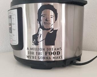 The Greatest Showman inspired instant pot vinyl