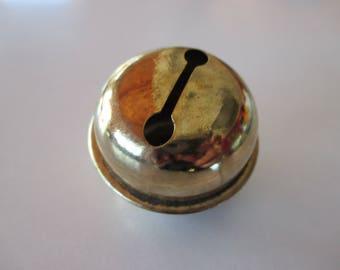 Big bells gold metal, 50mm diameter.
