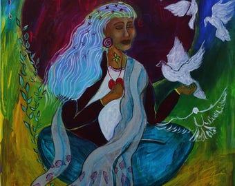 Holy Elder Woman Returns