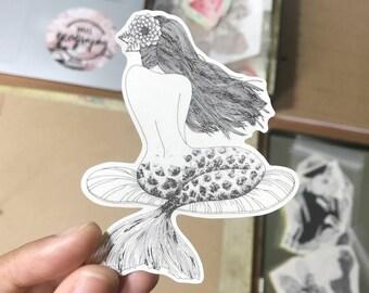 Coralia Mermaid Stickers
